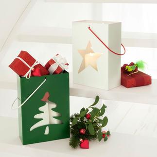 Geschenktüten-Windlicht Windlicht, Verpackung und schönes Geschenk in einem.
