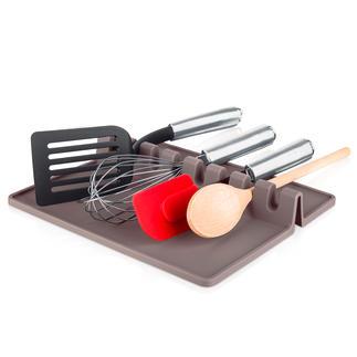Kochutensilien-Ablage XL Alles griffbereit – und Ihre Arbeitsfläche bleibt sauber. Platz für bis zu 8 Kochutensilien.