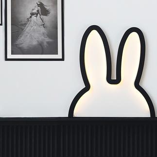 """Miffy """"Ohren""""-Silhouette Süss, aber gar nicht kitschig: die Silhouetten-Skulptur von """"Miffy"""", dem berühmten Hasen-Mädchen."""