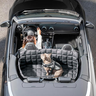 95 °C waschbare Auto-Hundedecke 100%ig keim-, parasiten- und geruchsfrei zu säubern. Mit Allseiten-Schutz für Rückbank und Kofferraum.