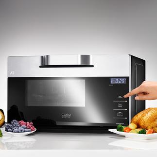 Inverter-Kombi-Mikrowelle IMCG25 Selten zu finden: die Mikrowelle mit Grill, Heissluft und moderner Inverter-Technologie.