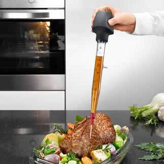 Zyliss® Bratenspritze Sauberer, vielseitiger und praktischer als andere. Mit Standfuss, Wechsel-Spitze und Reinigungsbürste.