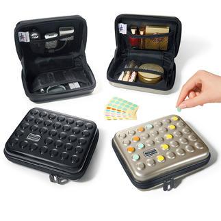 Dot-Drops® Ultraleicht-Case Stylisher Schutz für Kosmetika, Medikamente, Ladegeräte, ... Im angesagten Dot-Drops® Design.