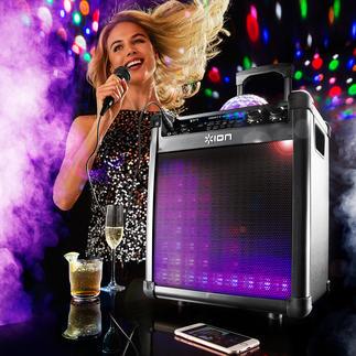 Portables Bluetooth Sound & Light-System Klang stark wie nie: das kabellose Sound & Light-System für Ihre Partys, Gartenfeste, ...