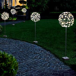 Gartenkugel Perfekt als Rankhilfe, Lichtobjekt oder pur als Skulptur. Für Drinnen und Draussen.