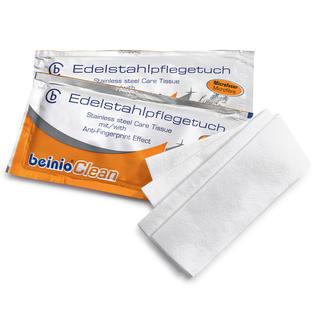 Edelstahl Reinigungstücher, 25 Stück Hygienische Sauberkeit + streifenfreier Glanz + lang anhaltender Schutz vor Fingerabdrücken.