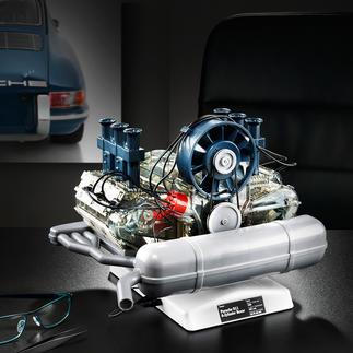 Steckbausatz Porsche 6-Zylinder-Boxermotor inkl. Modellauto Porsche 911 Motoren-Technik mit Kultstatus: der Porsche 6-Zylinder-Boxermotor als bewegliches 1:4-Modell.