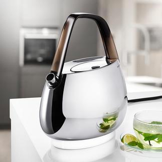 Bugatti® Design- Wasserkocher Aussen Design-Objekt, innen Hightech: der Wasserkocher von Bugatti®.