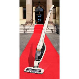 2-in-1 Akkusauger Ergorapido® X Flexibility Jetzt noch besser: 45 Minuten kabelloser Dauerbetrieb (statt oft nur 15 Min.) und Spezialdüse mit UV-Licht.