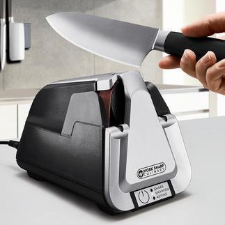 Work Sharp Bandschleifgerät Culinary E5 Die Bandschleif-Technik der Profis – jetzt auch für den Hausgebrauch.