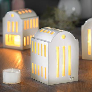 """Urbania Lichthaus """"Smedje"""" Wertvolle Handwerkskunst macht jedes Keramik-Lichthaus zum Unikat. Dänisches Design mit Tradition: von Kähler – seit 1839."""
