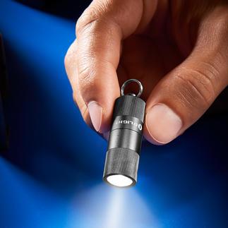 Olight Mikro-Taschenlampe Die wohl kleinste, stärkste und robusteste Mikro-Taschenlampe der Welt.