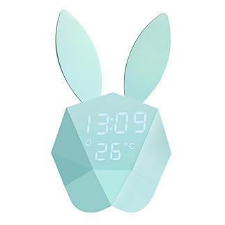 Cutty Clock Weckt sanft. Und lässt auf Fingerschnipp Uhrzeit und Temperatur aufleuchten.