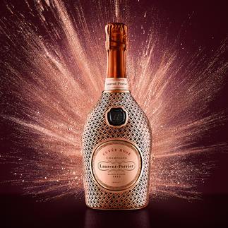 Champagne Laurent Perrier Cuvée Rosé in Metall-Schatulle, Frankreich Nur für Pro-Idee Kunden: die letzten 294 Exemplare der limitierten Edition.