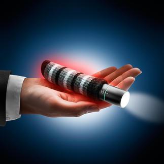 3-in-1-Handwärmer Handwärmer, Taschenlampe und Powerbank in einem kompakten Tool.