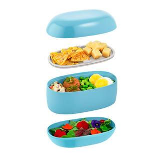 Designer Lunch Box Die edle Frischhaltebox als stylishes Henkeltäschchen. Entworfen von Sakura Adachi, Japans Stardesignerin.