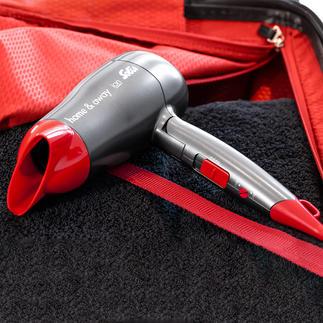 Solis Kompakt-Haartrocker Home & Away Die Power grösserer Haartrockner. Im ultrakompakten (Reise-)Format.