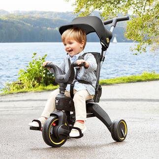 Faltbares Vario-Dreirad Liki Das coole Vario-Dreirad: in Sekunden auf Handgepäckgrösse gefaltet.