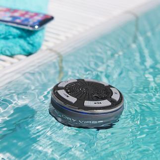Wasserdichter Bluetooth-Lautsprecher DryVibes Wasserdicht. Soundstark. Kabellos. Der bessere Bluetooth-Lautsprecher für Alltag, Freizeit, Outdoor.