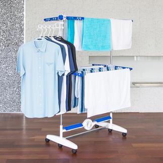 NuBreeze Wäscheständer Luftig getrocknete Wäsche wie in der Natur. Jetzt auch drinnen.