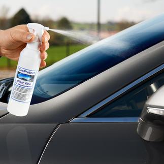 Clear View Autoglas-Versiegelung Endlich schlierenfrei: die Scheibenversiegelung ohne Silikone. Regen und Spritzwasser perlen sauber ab.