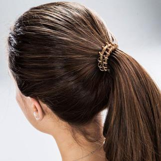 High Performance Spiral-Haargummi, 6er-Set Der bessere Haargummi: Hält perfekt, verrutscht nicht, ziept nicht, hinterlässt keine Druckstellen, ...