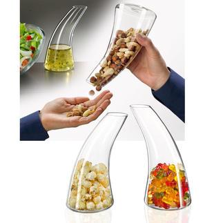 Snack-Spender/Karaffe Die schönere (und appetitlichere) Art Knabbereien zu servieren.