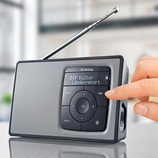 TechniSat DIGITRADIO 2 Mit Akku (statt Batterien) und Bluetooth-Streaming. Qualität made in Germany.