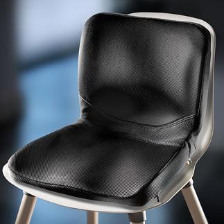 P!NTO Sitzauflage Wer weiss mehr über richtiges Sitzen als die Frau, die Tausende massgeschneiderte Sitzlösungen für Menschen mit Handicap gefertigt hat.