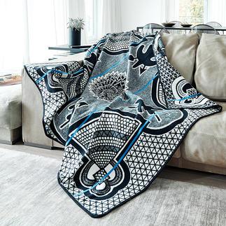 Basotho-Decke In Afrika ein eleganter Umhang. Für Sie eine aussergewöhnliche Decke von ethnischem Reiz.