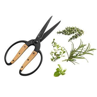Déglon Haushaltsschere Die schönere Haushaltsschere: mit Griffschalen aus robustem Bambusholz (statt Kunststoff).