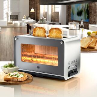 WMFGlastoasterLONO Der Hightech-Toaster mit Glas-Sichtfenster. Langlebige Qualität von WMF.