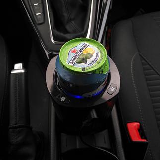 Kfz-Dosen-/Flaschenkühler Jetzt geniessen Sie auch unterwegs perfekt gekühlte Getränke.