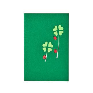 Popup-Karten, 6er-Set Handgefertigte Popup-Grusskarten: Papierkunst, die Tradition und Moderne vereint.  Von Fedrigoni/Italien.