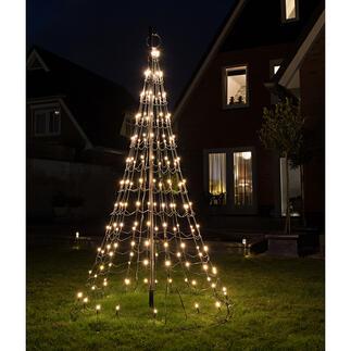 LED-Lichterbaum Prächtige Festbeleuchtung. Kinderleicht aufgebaut.