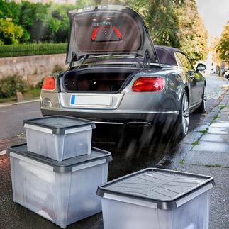 SmartStore™DryAufbewahrungsboxen Wasserresistente Boxen für Keller, Dachboden, Garage, Zelt, Caravan, Boot, ...