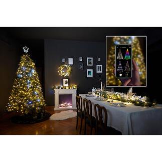Magische Lichterkette Magische Lichterketten verwandeln Ihren Weihnachtsbaum in eine atemberaubende Licht-Installation.