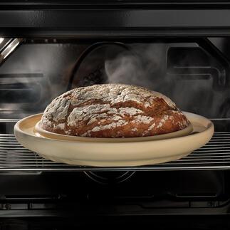 CeraFlam®Backplatte Bread&Cake Ihr selbstgebackenes Brot: rundum gleichmässig gebräunt, mit köstlich knuspriger Kruste.