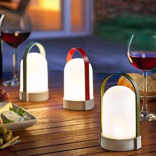 AkkuleuchtePiccolos, 3er-Set Schönstes, blendfreies LED-Licht für drinnen, draussen und unterwegs – ohne Stromanschluss. Tragbar, dimmbar und vielseitig nutzbar.