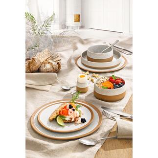 GeschirrserieCaja je 6er-Set Drei Trends in einem Geschirr: nordisches Design, handwerkliche Ausstrahlung und natürliches Steinzeug. Von ASA Selection/Germany.