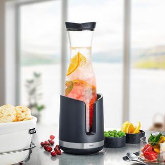 WeinkühlerSMARTLINE Wein, Tafelwasser, Säfte,... bleiben bis zu 2Stunden köstlich kühl. Ohne Eis und tropfendes Tauwasser.