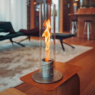 Flammenwirbel SPIN Der patentierte Flammenwirbel SPIN vergrössert die Flamme um das Fünffache.
