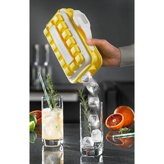 Ice-Pop Eiswürfelform Ein Plopp – und 18 Eiswürfel sauber einzeln servieren. Perfekt für Garten, Freibad, Picknick, ...