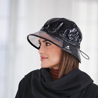 Kangol® Regenhut Gewährt gute Aussichten bei schlechtem Wetter: der modische Regenhut mit Durchblick. Von Kangol®.