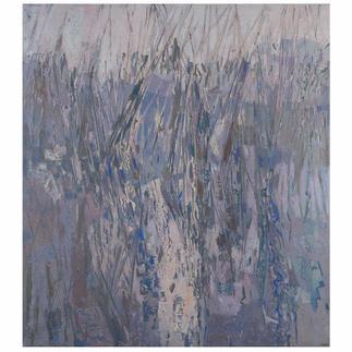 José Maria Guerrero Medina – Binsen am See Das Werk eines der wichtigsten spanischen Maler: Erste Leinwand-Edition des Künstlers Guerrero Medina. Masse: 100 x 112 cm