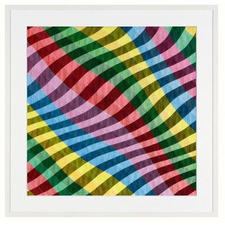 Antonio Marra – Mir schwirrt der Pinsel Erstmals kann ein Kunstwerk Antonio Marras als limitierte Edition aufgelegt werden. Aussergewöhnliche Dreidimensionalität und Mehransichtigkeit. Masse: gerahmt 114,5 x 114,5 cm