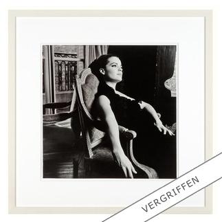 """Will McBride: """"Romy Paris64"""" Will McBride, Star der deutschen Fotografie-Geschichte, präsentiert seine erste Edition: Romy Schneider auf hochwertigem Baryt."""