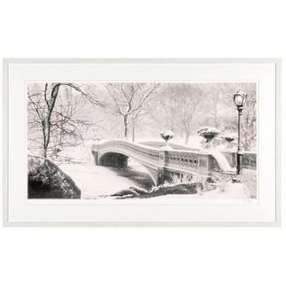 Koshi Takagi – Central Park Fotorealistische Bleistiftzeichnung mit über 1 Million handgemalten Strichen. Die zweite Edition Koshi Takagis (die erste ist bereits ausverkauft). Masse: 125 x 65 cm