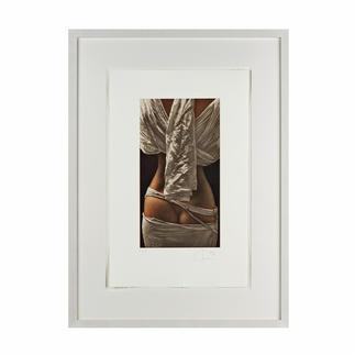 Willi Kissmer – Rückenakt Willi Kissmers handgefertigte Original-Radierungen. 100 handsignierte Exemplare. Masse: 32 x 51 cm