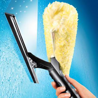 Ettore® Fensterreiniger Der Abzieher der Profi-Fensterputzer. So schnell und mühelos haben Sie noch nie Fenster geputzt.